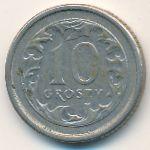 Польша, 10 грошей (1998 г.)