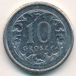 Польша, 10 грошей (2008 г.)