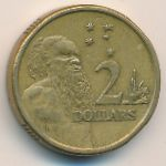 Австралия, 2 доллара (1988–1997 г.)