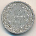 Либерия, 10 центов (1961 г.)