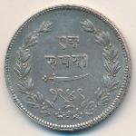 Барода, 1 рупия (1892 г.)