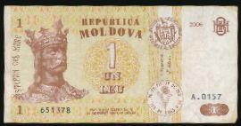 Молдавия, 1 лей (2006 г.)