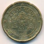 Австрия, 20 евроцентов (2003 г.)