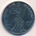 Ватикан, 100 лир (1980 г.)