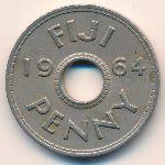 Фиджи, 1 пенни (1964 г.)