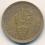 Монако, 1 франк (1924 г.)
