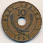 Восточная Африка, 10 центов (1942 г.)
