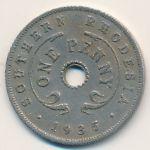 Южная Родезия, 1 пенни (1935 г.)
