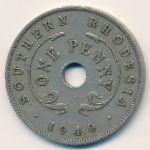 Южная Родезия, 1 пенни (1940 г.)