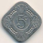 Нидерланды, 5 центов (1936 г.)