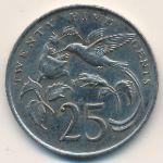 Ямайка, 25 центов (1987 г.)