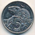Новая Зеландия, 5 центов (1988 г.)
