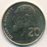 Кипр, 20 центов (1989 г.)