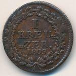 Нассау, 1 крейцер (1809 г.)