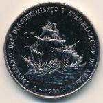 Доминиканская республика, 1 песо (1988 г.)