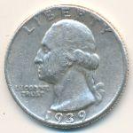 США, 1/4 доллара (1939–1962 г.)