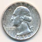 США, 1/4 доллара (1957–1964 г.)