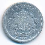 Швеция, 1 крона (1875 г.)