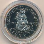 США, 1/2 доллара (1989 г.)