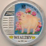 Ниуэ, 1 доллар (2007 г.)