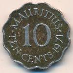 Маврикий, 10 центов (1971 г.)