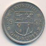 Маврикий, 1 рупия (1993 г.)