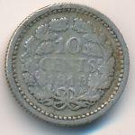 Нидерланды, 10 центов (1919 г.)