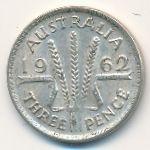 Австралия, 3 пенса (1962 г.)