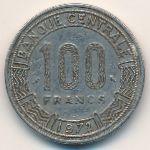 Чад, 100 франков (1972 г.)