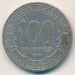 Чад, 100 франков (1975–1988 г.)