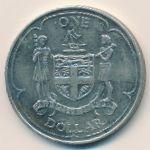Фиджи, 1 доллар (1969 г.)