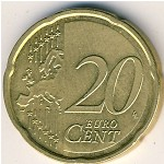 Germany, 20 euro cent, 2007–2018