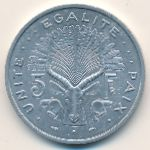 Джибути, 5 франков (1977–1991 г.)