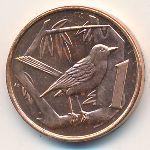 Каймановы острова, 1 цент (2002–2008 г.)