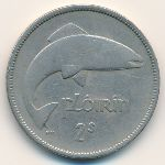 Ирландия, 1 флорин (1951–1966 г.)