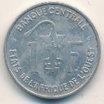 Западная Африка, 1 франк (1975 г.)