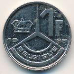 Бельгия, 1 франк (1989 г.)