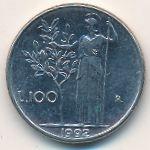 Италия, 100 лир (1990–1992 г.)