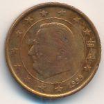 Бельгия, 1 евроцент (1999 г.)