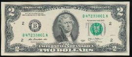 США, 2 доллара (2013 г.)