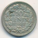 Нидерланды, 10 центов (1941 г.)