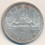 Канада, 1 доллар (1965 г.)