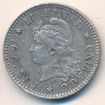 Аргентина, 10 сентаво (1883 г.)
