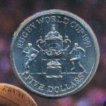 Новая Зеландия, 5 долларов (1991 г.)