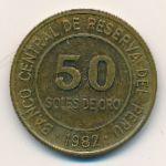 Перу, 50 солей (1982 г.)