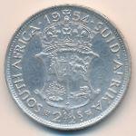 ЮАР, 2 1/2 шиллинга (1954 г.)