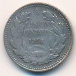 Чили, 5 сентаво (1916 г.)