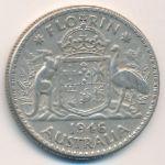 Австралия, 1 флорин (1946 г.)