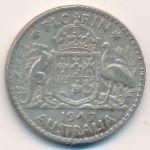 Австралия, 1 флорин (1947 г.)