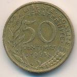 Франция, 50 сентим (1963 г.)